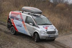 Team Fleetboard Dakar: Mercedes Viano