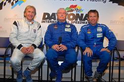 New teammates: Derek Bell, Roger Schramm and Justin Bell will co-drive the RVO Motorsports Pontiac Riley