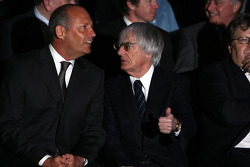 Ron Dennis and Bernie Ecclestone