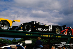 #15 Richard Lloyd Racing Porsche 962 C: David Hobbs, Damon Hill, Steven Andskar