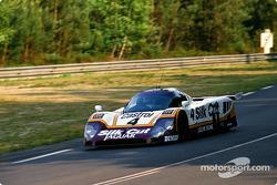 #4 Silk Cut Jaguar Jaguar XJR9 LM: Alain Ferté, Michel Ferté, Eliseo Salazar