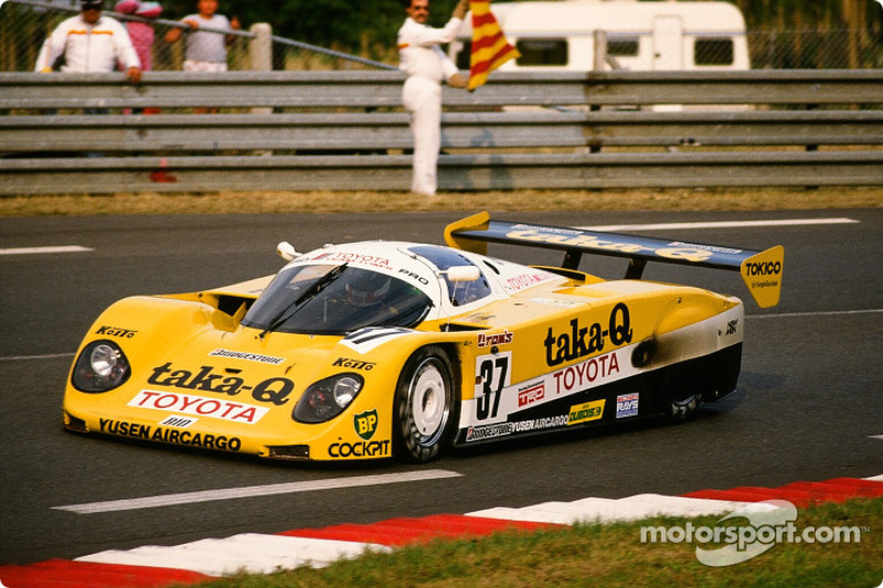 1989: #37 Toyota Tom's Team Toyota 89 CV: Johnny Dumfries, Geoff Lees, John Watson