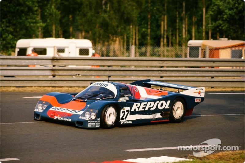 Brun Motorsport Porsche 962 C : Franz Konrad, Rodolf Seher, Andres Vilarino