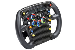 The Toyota TF108 steering wheel