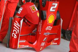 Felipe Massa, Scuderia Ferrari, F2008, detail