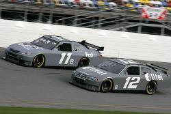 Denny Hamlin and Ryan Newman