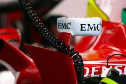 Toyota F1 Team TF108 miror detail