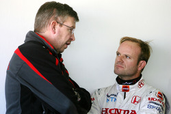 Ross Brawn Team Principal, Honda Racing F1 Team, Rubens Barrichello, Honda Racing F1 Team