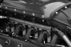 Roush Yates Ford powerplant of the Doran Racing Ford Doran