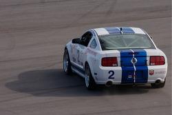 Spin for #2 Blackforest Motorsports Ford Mustang GT: Roberto Bengoa, Jose Carlos Santiago