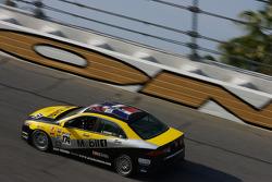 #174 LRT Racing Acura TSX: Jorge Leroux, Juan Leroux