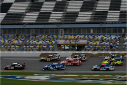 Practice action in the trioval