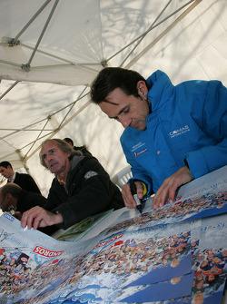 Jacques Laffite and Erik Comas