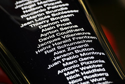 Name of all the Williams drivers of the last 30 years