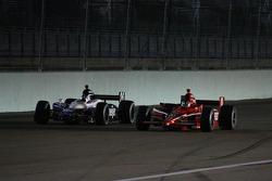 Marco Andretti and Dan Wheldon