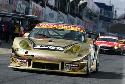 Nobuteru Taniguchi and Shinichi Yamaji, Yunker Power Taisan Porsche