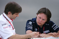Pascal Vasselon, Toyota Racing, Senior General Manager Chassis, Sam Michael, WilliamsF1 Team, Technical director