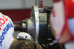 Technical Feature, rear breakes of teh Toyota