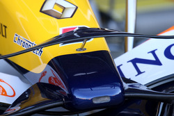 Renault F1 Team, R28, front wing detail