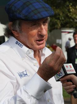 Sir Jackie Stewart, RBS Representitive and Ex F1 World Champion