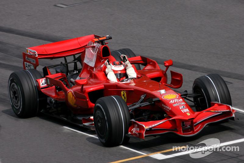 2008. Кими Райкконен, Ferrari