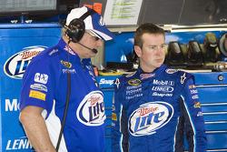 Kurt Busch and Pat Tryson