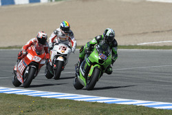Anthony West, Marco Melandri and Alex De Angelis