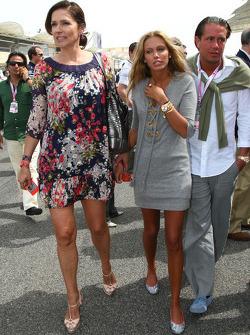 Slavica Ecclestone, Wife to Bernie Ecclestone and Petra Ecclestone, Daughter of Bernie Eccelestone