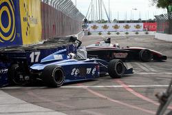 Bobby Wilson and Andrew Prendeville crash