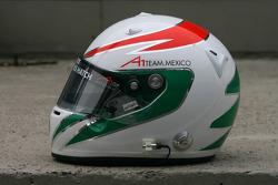 Jorge Goeters, driver of A1 Team Mexico helmet
