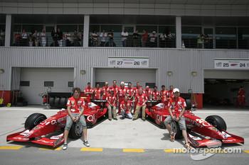Hiroki Yoshimoto and Luca Filippi with Qi - Meritus team