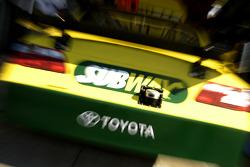 Detail of Tony Stewart's Toyota