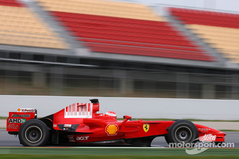 2008: Тести з Ferrari