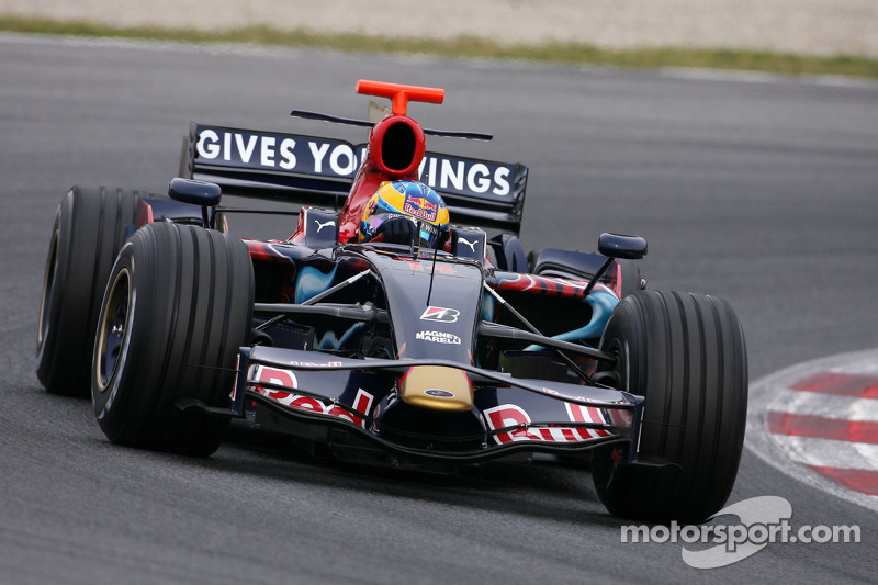 Sébastien Bourdais, Scuderia Toro Rosso, new STR03