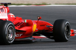 Michael Schumacher, Test Driver, Scuderia Ferrari, on slicks