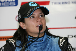 Post-race press conference: race winner Danica Patrick
