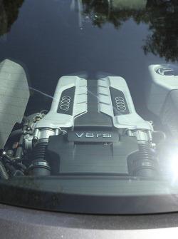 Engine detail of 2008 Audi R8