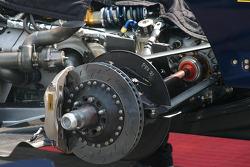 Champ Car brake system detail