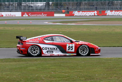 #95 Advanced Engineering Pecom Racing Team Ferrari F430 GT: Luis Perez Companc, Matias Russo