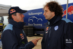 Carlos Sainz and Donatus Wichelhaus