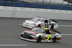 Dale Earnhardt Jr. and Brad Keselowski
