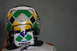 Giancarlo Fisichella, Force India F1 Team HANS device