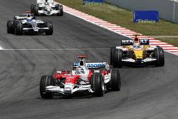 Jarno Trulli, Toyota Racing, Nelson A. Piquet, Renault F1 Team
