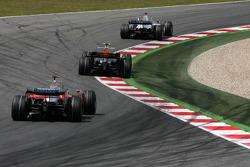 Nick Heidfeld, BMW Sauber F1 Team, David Coulthard, Red Bull Racing, Jarno Trulli, Toyota F1 Team