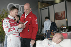 Allan McNish and Dr. Wolfgang Ullrich