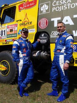 Tatra Team: Ales Loprais and Milan Holan