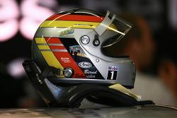Helmet of Bernd Schneider, Team HWA AMG Mercedes, AMG Mercedes C-Klasse