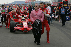 David Robertson, Manager of Kimi Raikkonen