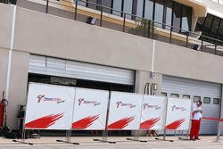 Pitlane atmospher, Toyota F1 TEam