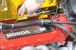 The Honda Indy V8 up close